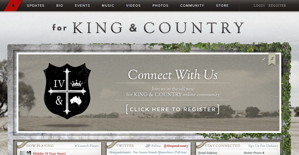 For King and Country - Contemporary Christian Music