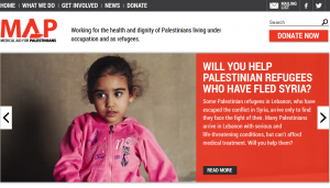 """Medical Aid for Palestinians: """"Giving Hope to Palestine"""" 