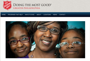 The Salvation Army of Greater Philadelphia — The Heart to Make a Difference