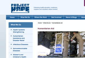 Project Hope: Humanitarian Aid | Helping Others One Day at a Time