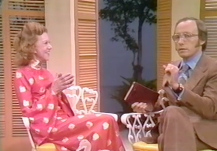 Kathryn Kuhlman interviews Sid Roth on the I Believe in Miracles TV Show