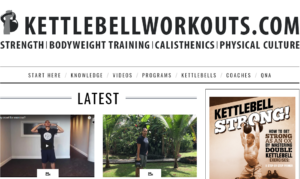 Kettlebell Workout Channel | Strength Training, Muscle Building and Fat Loss | Trainer Chris Lopez