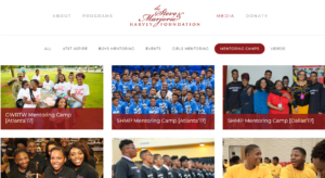 Steve and Marjorie Harvey Foundation   Youth Outreach Services and Mentoring Programs